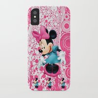 minnie mouse iPhone & iPod Cases featuring Minnie Mouse Cartoon by Maxvision