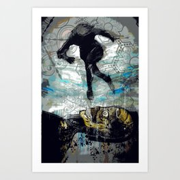 The Vector of Our Love Art Print