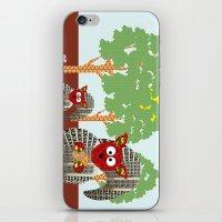 kangaroo iPhone & iPod Skins featuring Kangaroo by Design4u Studio