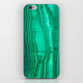 Malachite Stone iPhone Skin