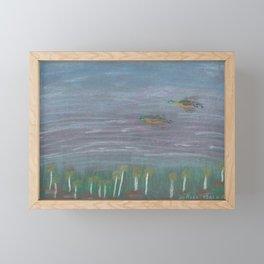 Ducks Framed Mini Art Print