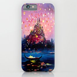 I see the lights iPhone Case
