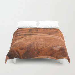 Red Rock Duvet Cover