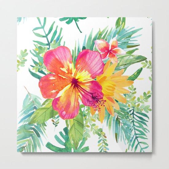 Floral paradise Metal Print