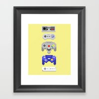 Nintendo Framed Art Print