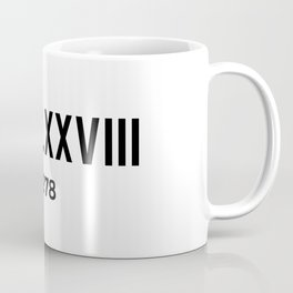 MCMLXXVIII | 1978 Birthday Shirt Coffee Mug