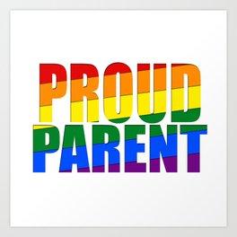Proud Parent Art Print