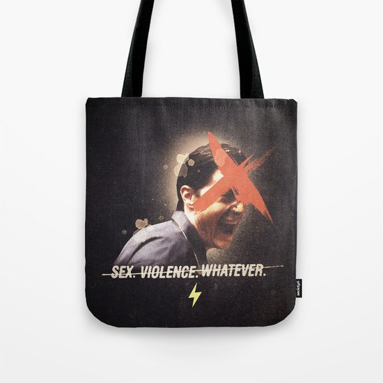 Black Mirror | Dale Cooper Collage Tote Bag