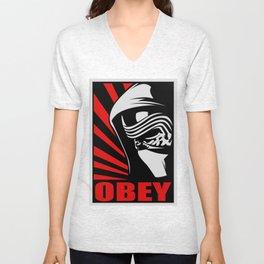 sith awakens obey Unisex V-Neck