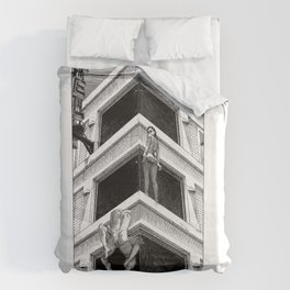asc 977 - Le Motel Nirvana (The place where sheets never cool) Duvet Cover