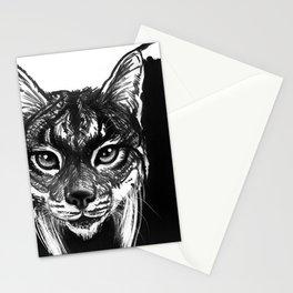 Lynx bobcat Stationery Cards