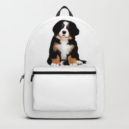 Bernese mountain dog puppy Backpack