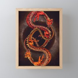 Twins Framed Mini Art Print