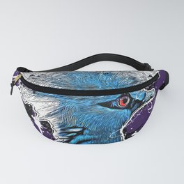 Victoria crowned pigeon #pigeon Fanny Pack