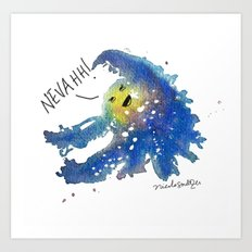 The Universe Refuses to Work With You Art Print