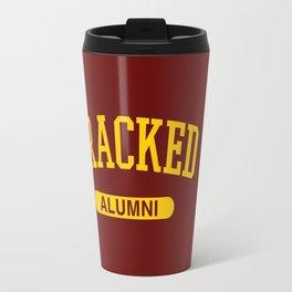 Cracked Alumni Travel Mug
