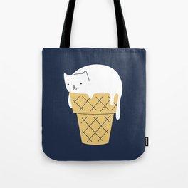 Meowlting kitty 1 Tote Bag