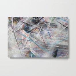 Contemporary Urban Art Metal Print