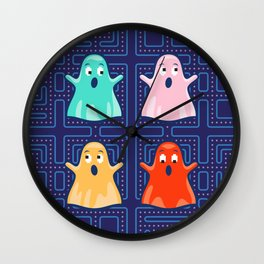 Ghosts! Wall Clock