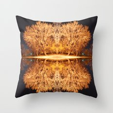 Quad Tree #5 Throw Pillow