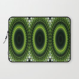 CHRISTMAS GREEN MANDELA CIRCLES FOR DECOR AND CLOTHING 2020 Laptop Sleeve