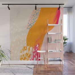 The Abstract Shape Of Spring Wall Mural