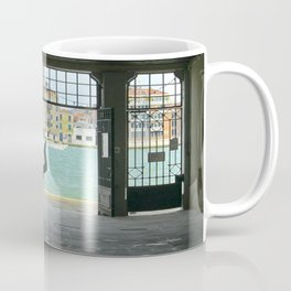Gondola on Giudecca Island, Grand Canal, Venice Coffee Mug