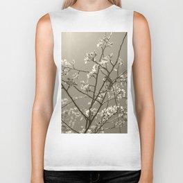 Spring blossoms #02 Biker Tank