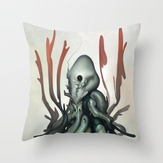 Sentient Throw Pillow