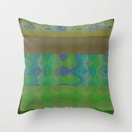 weaving fabric 04 Throw Pillow