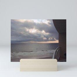 Stormy Sunrise Mini Art Print