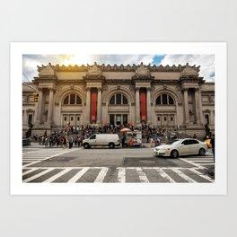 Metropolitan Museum of Art in New York City Art Print