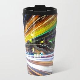 Light Trails 1 Travel Mug