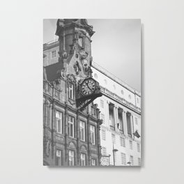 City Clock. Metal Print