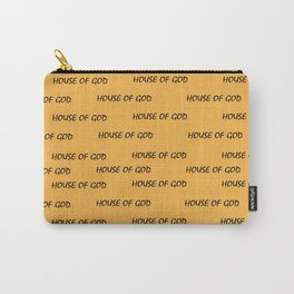 House of God all-over print_Orange Carry-All Pouch