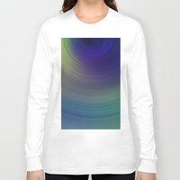 blur Long Sleeve T-shirts featuring Blur 1 by Andrea Gingerich