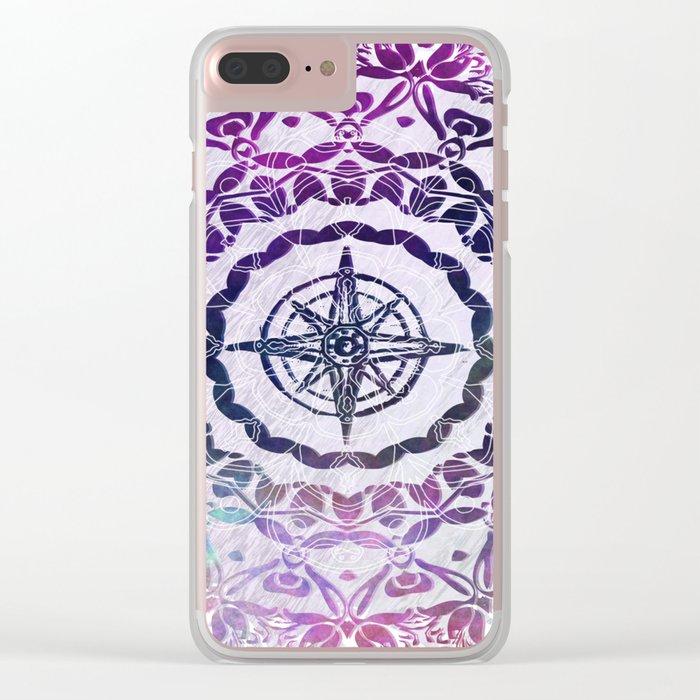 Destination Mandala Clear iPhone Case