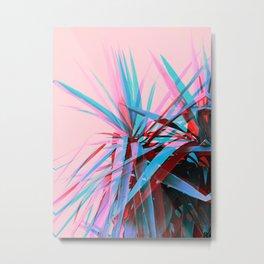 Duotone Palms Metal Print