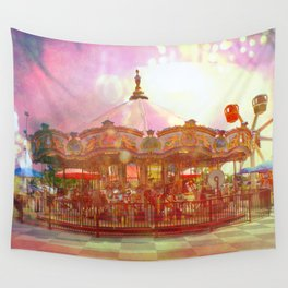 Merry Go Round Wall Tapestry
