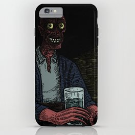 A stranger in the corner iPhone Case