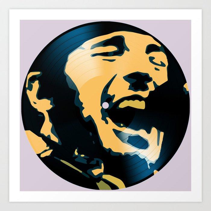 Vinyl No.1 Art Print