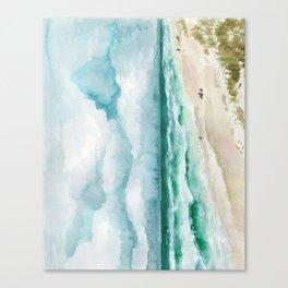 Watching waves at Florida Seagrove Beach  Canvas Print