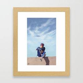 iKON Bobby Framed Art Print