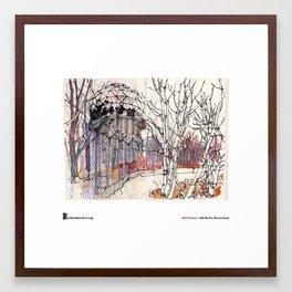 """Rolf Schröter, """"Teufelsberg"""" Framed Art Print"""
