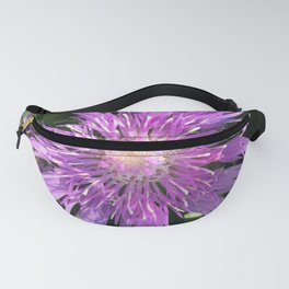 Purple Aster Fanny Pack