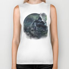 The Haunted House Biker Tank