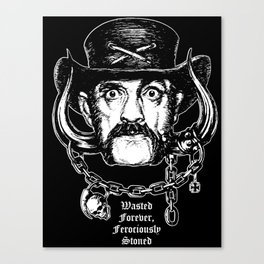 Lemmy Forever Canvas Print