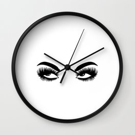 Grandfather Uncles Grandpas Dad Tease Relative Top Dad Jokes Eye Roll Daddy Father's Day Garment Wall Clock