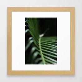 Feeling The Green Framed Art Print