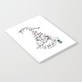 Gnome for the Holidays Notebook